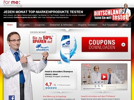 Deutschland testet! Coupons gew&auml;hren bis zu 50 Prozent Rabatt auf Markenprodukte