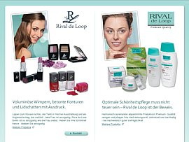 Coupon f&uuml;r kostenlose Mascara von Rival de Loop erspielen