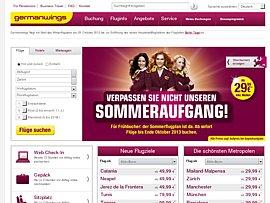 Germanwings schaltet Sommerflugplan 2013 frei