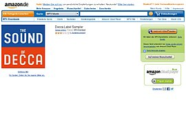 Amazon spendiert Label des Monats - Decca