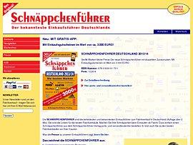 Schnäppchenführer Deutschland 2013/14 mit Gratis App gewinnen