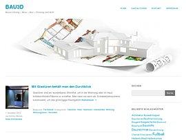 Bau3D - Ratgeber rund um Hausbau und -planung