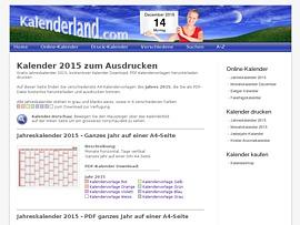 Kostenlose Kalender im Kalenderland