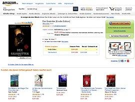 "Amazon verschenkt Kindle E-Book ""Der Grabritter"""