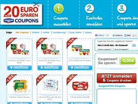 gratis coupons lebensmittel