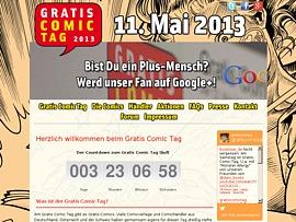 Gratis Comic Tag 2013 -  Am 11. Mai viele Comics geschenkt