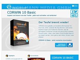 Brennen wie der Teufel - Brennsoftware CDRWin 10 Basic zum kostenlosen Download