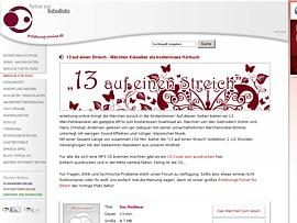 Erziehung-online verschenkt Hörbuch - 13 klassische Märchen zum kostenlosen Download