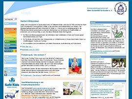 Kindersicherheit: Infos der Bundesarbeitsgemeinschaft Mehr Sicherheit für Kinder