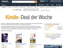 Amazon Kindle-Deal der Woche - 50 Prozent Rabatt auf 20 E-Books