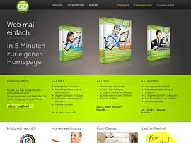 GO.de - Homepage kostenlos erstellen
