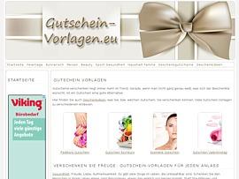 Gutschein-Vorlagen.eu - Kostenlos Gutscheine gestalten und ausdrucken