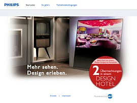 philips designline fernseher kaufen und zweimal kostenlos im design hotel bernachten. Black Bedroom Furniture Sets. Home Design Ideas