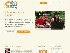 Couchsurfing.com: Weltweit freie Sofas zum Gratis-Übernachten
