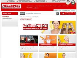 """Hellweg Baumarkt startet """"Ladies Night"""" - Kostenloser Workshop für Frauen"""