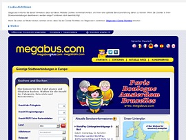 megabus bietet fahrkarten f r 1 50 euro mit dem fernbus durch deutschland reisen. Black Bedroom Furniture Sets. Home Design Ideas