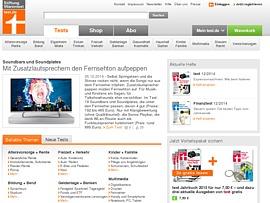 Stiftung Warentest testet Soundbars und Soundplateden - Fetter Sound per Fernseher