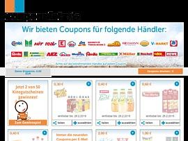 Sparen mit coupons
