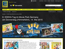 movie park germany zum edeka tag per coupon f r nur 15 euro besuchen. Black Bedroom Furniture Sets. Home Design Ideas