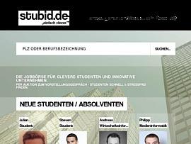 Stubid - Innovative Job-Börse für Studenten und Absolventen