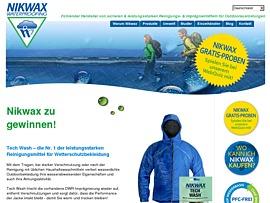Nikwax Tech Wash Gratisprobe - Reinigungsmittel für Outdoor-Kleidung garantiert gewinnen