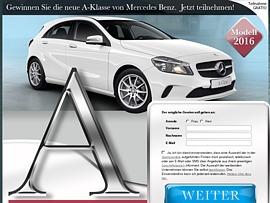 Mercedes A Klasse wartet auf neuen Besitzer