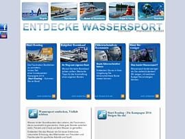 Wassersport in all seinen Facetten