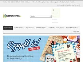 Kartenmachen.de - Individuelle Einladungskarten für jeden Anlass