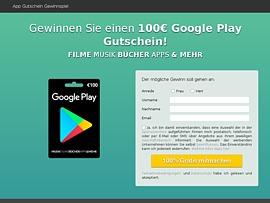 Google Play Gutschein fürs kostenlose App Vergnügen