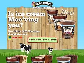 Ben & Jerry´s Produkttest: Eis geht immer!