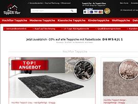 Teppich-Flor.de bietet 10% Rabatt auf alle Teppiche