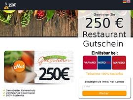 Weltweit gratis Essen bei Vapiano, Nordsee und Maredo