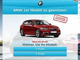 Autoverlosung: Ein neuer BMW für den Gewinner