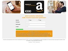 Amazon Geschenkkarte über fünfhundert Euro gewinnen