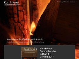 Kaminfeuer online im Webbrowser anschauen