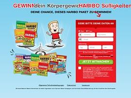 Haribo: Gewinne dein Körpergewicht in Süßigkeiten