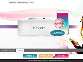 Kostenloses Iphone 8 für Apple Freunde