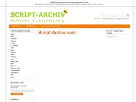 Umfangreiches Script-Archiv
