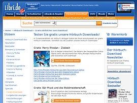 Hörbuch-Downloads und Gutschein von Libri.de