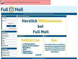 FullMail.de - FreeMail Angebot inklusive 10 Gratis-SMS