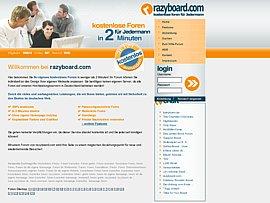 razyboard.com - Kostenloses Forum in nur zwei Minuten