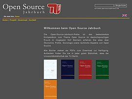 Open Source Jahrbuch 2007 kostenlos downloaden