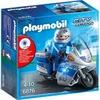 Playmobil Motorradstreife mit LED-Blinklicht (6876)