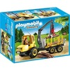 Playmobil Holztransporter mit Kran / Country (6813)