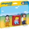 Playmobil Eltern mit Babywiege / 1.2.3 (6966)