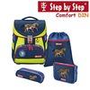 Hama Step by Step Comfort DIN Schulranzen-Set 4-teilig