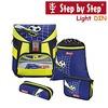 Hama Step by Step Light DIN Schulranzen-Set 4-teilig