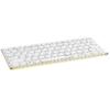 Rapoo E6350 Bluetooth Ultra-Slim Keyboard weiß/grün