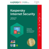 Kaspersky Internet Security 2017 (2 Geräte, 1 Jahr, Code in a Box)