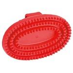 Kerbl Gummistriegel oval, aus Hartgummi